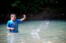 activities rock skipping
