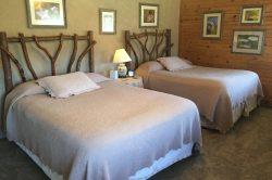Wildflower room new queen bed carpet